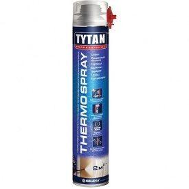 Напыляемая полиуретановая теплоизоляция TYTAN Professional THERMOSPRAY GUN 870 мл