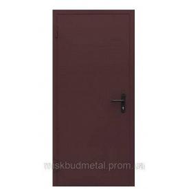 Дверь противопожарная 2100x800 мм Міськбудметал ДМП 21-8 EI30