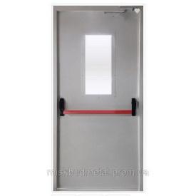 Противопожарная дверь антипаника 2100х900 мм Міськбудметал ДМП 21-9 EI60 CА