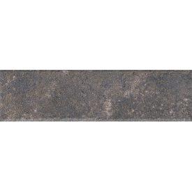 Клинкерная плитка Paradyz Viano antracite struktura elewacja 6,6x24,5 см