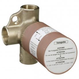 HANSGROHE вентиль скрытая часть запорного/переключающего вентиля