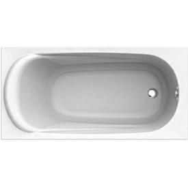 SAGA ванна 160x75 см прямоугольная с ножками SN 0 и элементами крепления