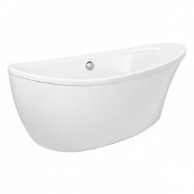 Ванна 180x91x68,5 см отдельностоящая акриловая с сифоном