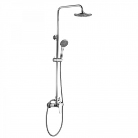 BILA SMEDA new система душевая смеситель для душа верхний и ручной душ 1 режим шланг 1,5 м