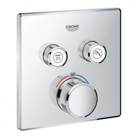 GROHTHERM SmartControl термостат для душа внешняя часть на 2 потребителя