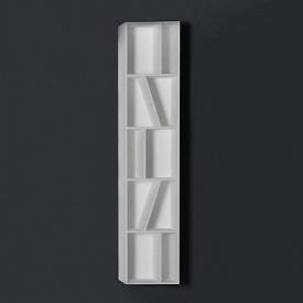 Пенал 30x20x145 см подвесной открытый каменный Solid surface