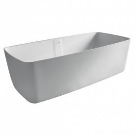 Ванна 168x80x53 см окрема кам'яна Solid surface