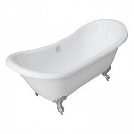 Ванна 175x75x78 см отдельностоящая на декоративных ножках