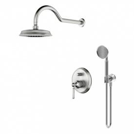 HYDRANT комплект скрытого монтажа для душа смеситель скрытого монтажа верхн душ ручной душ