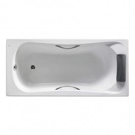 BECOOL ванна 180x80 см прямоугольная с подголовником с 2 мя ручками с ножками объем240 л