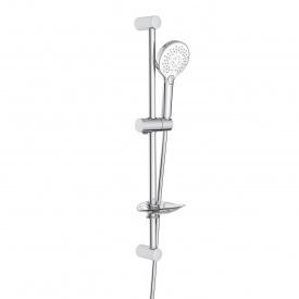 Штанга душевая L-66 см ручной душ 3 режима шланг мыльница