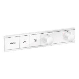 RAINSELECT термостат для 2х потребителей скрытого монтажа покрытия белый матовый