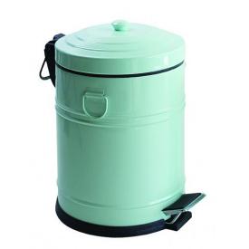 VINTAGE відро для сміття з педаллю 5 л м'ята