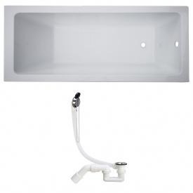 Комплект LIBRA ванна 150x70x45,8 см без ножек + SIMPLEX сифон для ванны