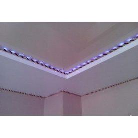 Устройство декоративного каната для натяжного потолка