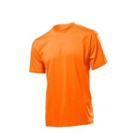 Спецодяг футболка робоча круглий виріз 100% бавовна кільцевого прядіння помаранчевий