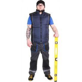 Спецодежда жилет рабочий утепленный ЛТМ дюспо темно-синий