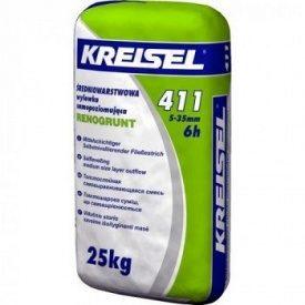 Самовыравнивающаяся смесь 5-35 мм Кreisel 411 25 кг