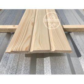 Вагонка деревянная из ели 13x70 мм