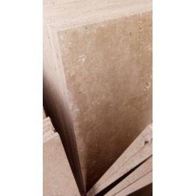 Плитка травертин Light брошированый светло кремовый 1.5х30х60 см