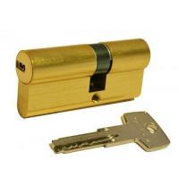Цилиндр замка ABUS D6 ключ-ключ 70 мм 35х35 латунь 5 ключей