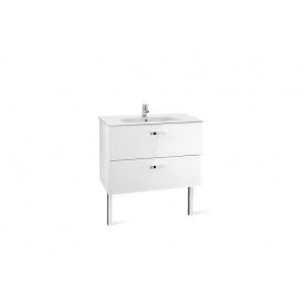 VICTORIA шкафчик с умывальником 100 см белый