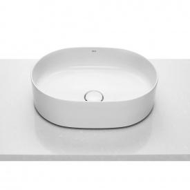 INSPIRA Round умывальник 50x37x14 cм круглый накладной без отв под смеситель без перелива