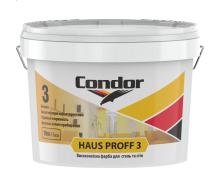 Высококачественная краска для потолков и стен Condor Haus Proff 3 10 л