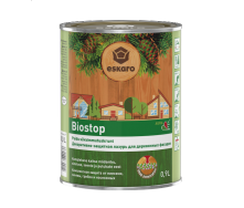 Биозащитная грунтовка для древесины Eskaro Biostop 0,9 л