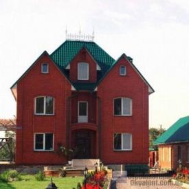 Кирпич СБК-Ромны Красный Вишневый (Ч7) Половинка (250х60х65мм)