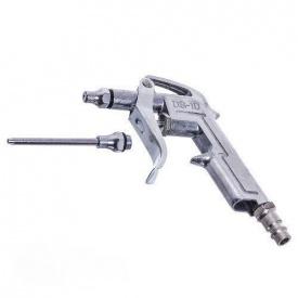 Пистолет продувочный короткий с дополнительным наконечником 80 мм AIRKRAFT DG-10-1-3