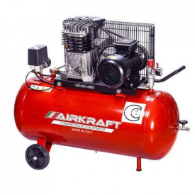 Компресор ремінною 100 л 360 л/хв 380 В 2,2 кВт AIRKRAFT AK 100-360 T-380-ITALY