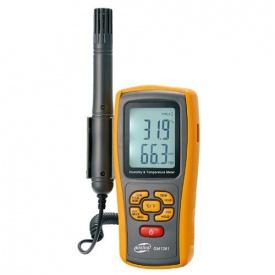 Термогигрометр электронный 0-100% -10-50 градусов Цельсия BENETECH GM 1361