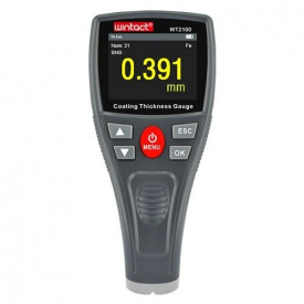 Прибор для измерения толщины краски Fe 0-1800 мкм WINTACT WT 2100