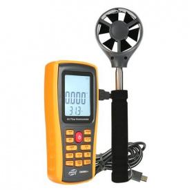 Анемометр профессиональный USB 0,3-45 м/с 0-45°C BENETECH GM8902X