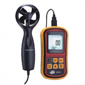 Термоанемометр 0,8-45м/с -10-45°C BENETECH GM8901
