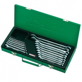 Набор ключей рожково-накидных TOPTUL 16 шт 6-24 мм кейс GAAD1602