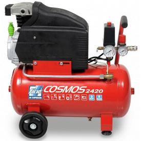 Компрессор 24 л поршневой 220В COSMOS 2420 CE ROSSO FIAC 9995260000