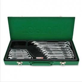Набор ключей рожково-накидных TOPTUL 16 шт 6-24 мм кейс GAAD1603