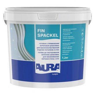 Шпаклівка Aura Luxpro Fin Spackel фінішна 1,2 кг