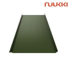 Фальцевая кровля Ruukki Classic Polyester C RM Зеленая сосна (RR11)