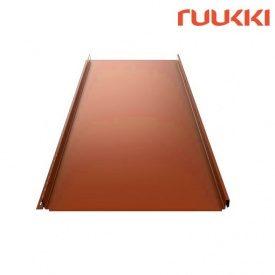 Фальцева покрівля Ruukki Classic C Polyester RM Цегляний (RR750)