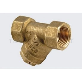 Фильтр косой сетчатый Tiemme 1/2 резьба внутренняя / внутренняя для грубой очистки воды ( 3670003 )