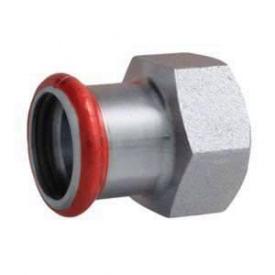 Муфта EUROTUBI с внутренней резьбой оцинкованная сталь 22x3/4 (C 80 QE-LBP)