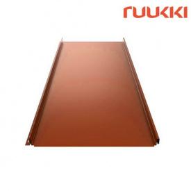 Фальцева покрівля Ruukki Classic C Pural Matt Цегляний (RR750)