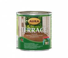 Масло для террас Aura Wood Terrace 0,9 л серый