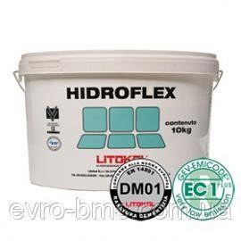 HIDROFLEX 5 кг Еластична гідроізоляційна мембрана для внутрішніх робіт Litokol