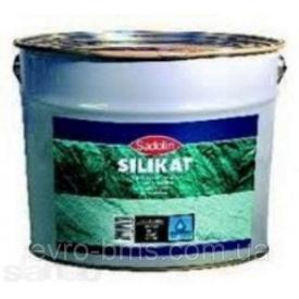 Краска Sadolin SILICAT силикатная для наружных работ 10 л