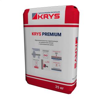 Проникаюча полімерцементна гідроізоляція KRYS PREMIUM 25 кг