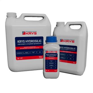Концентрат 1:20 для поверхневої і ін'єкційної гідрофобізації KRYS HYDROSILIC 1 л